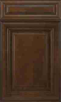 J&K Cabinetry Choclate Glazed
