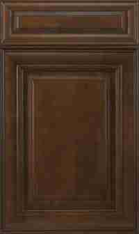 J&K Cabinetry Choclate Glazed
