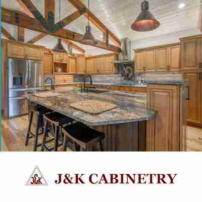 J & K Cabinetry Logo With ?mage