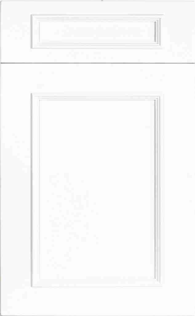 St Martin Cabinetry Ridge Wood Bright White