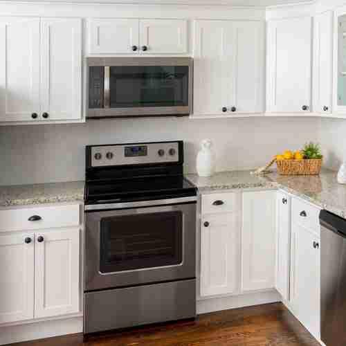 Fabuwood White Mini Cabinet Kitchen