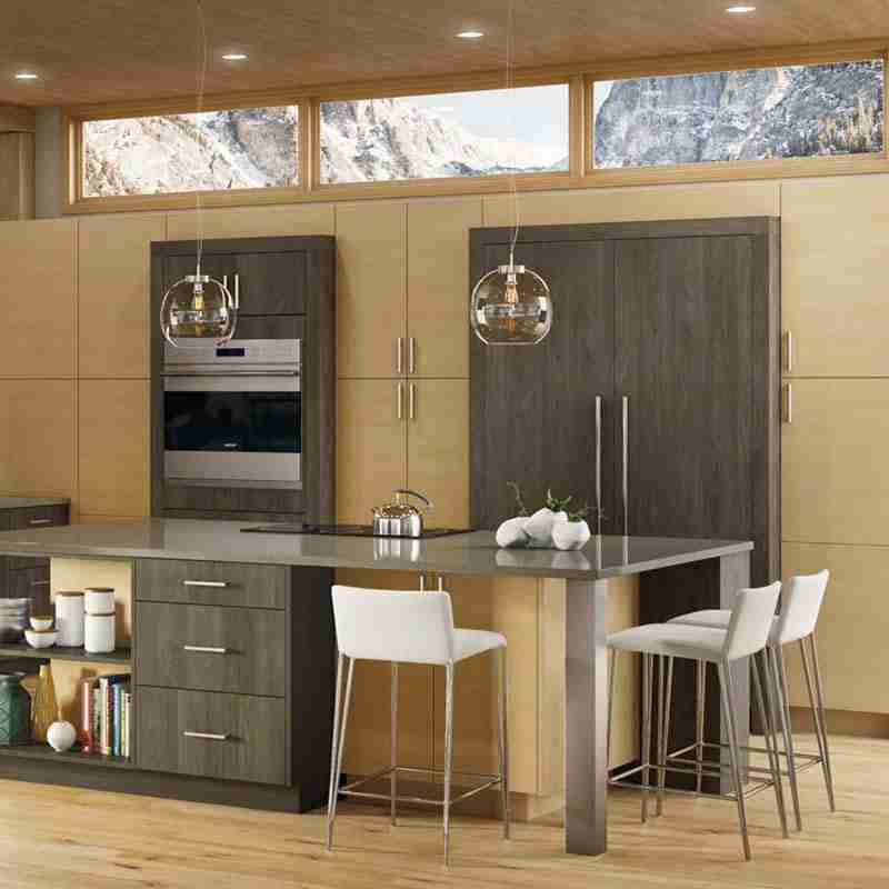 Woodland Cabinetry Loft Grey Stone