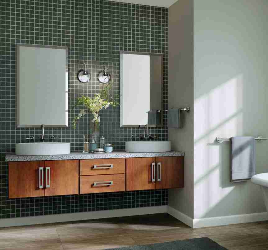 Starmark Cabinetry Bathroom Brown