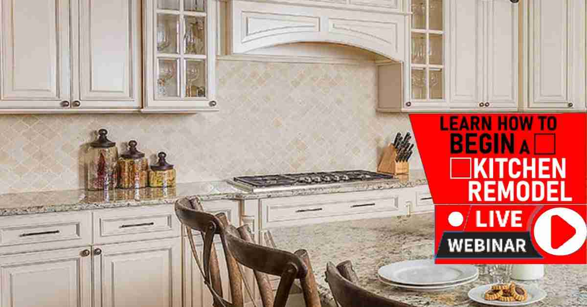 How to Remodel Your Kitchen Webinar